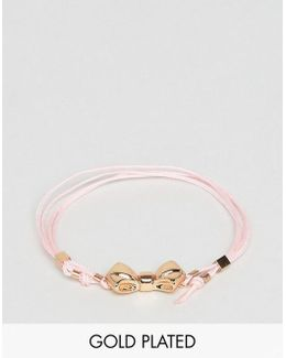 Baby Bow Cord Bracelet