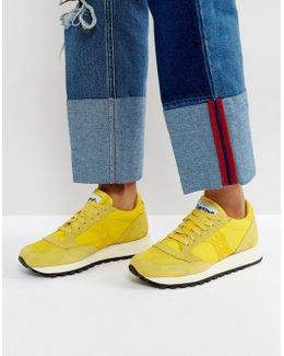Jazz O Vintage Trainers In Yellow