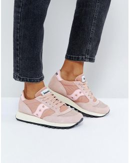 Jazz O Vintage Trainers In Pink