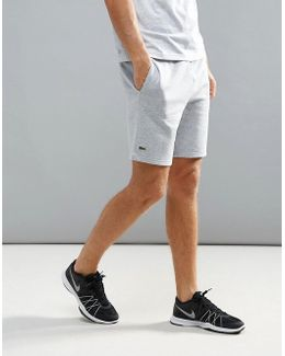 Fleece Sweat Shorts In Grey
