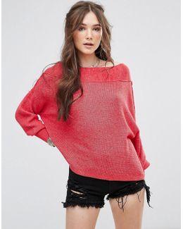 Alana Slouchy Knit Jumper