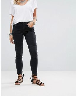 Moto Magic Skinny Jeans