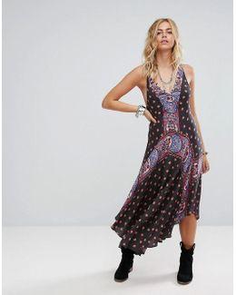 Faithfully Yours Printed Maxi Dress