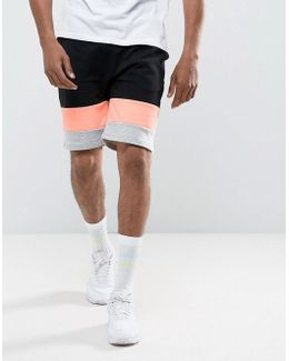 Jersey Cut & Sew Shorts