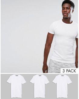 3 Pack Lounge T-shirt