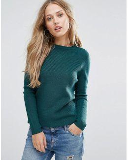Crew Neck Sweater Jumper