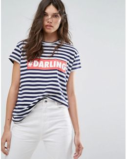 Stripe Darling T-shirt