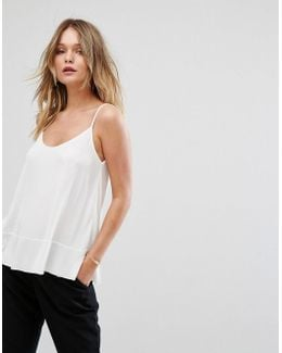 Scoop Front Cami Top