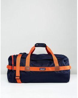Arbor Duffel Bag 60l In Navy/red