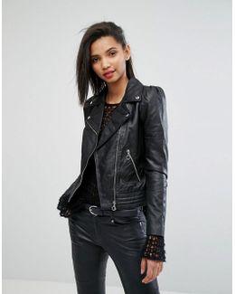 Minimal Biker Jacket