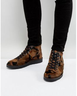 Rainey Camo Monkey Boots