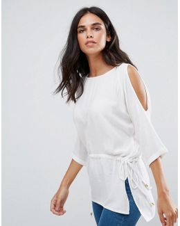 River 3/4 Sleeve Top