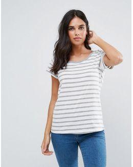 Maddelin Striped T-shirt