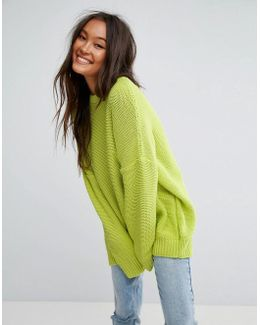 Oversized Chunky Sweater