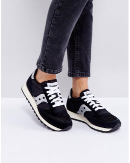 Jazz O Trainers In Black