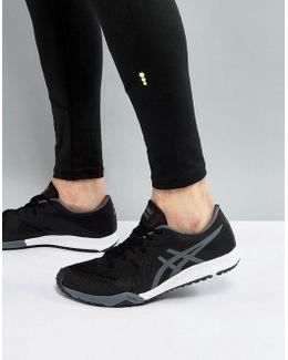 Weldon X Training Sneakers In Black S707n-9097