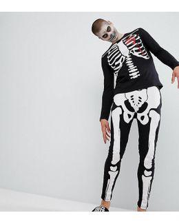 Halloween Skeleton Pyjama Set