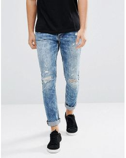 Carrot Ripped Jeans