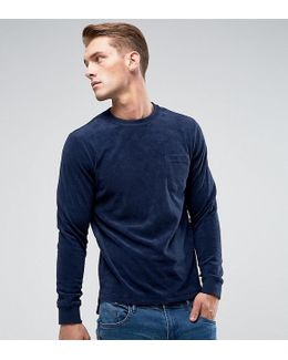 Towelling Sweater
