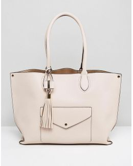 Dockie Tote Bag With Front Pocket