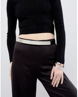 Skinny Full Metal Waist Belt