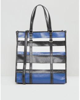Stripe Shopper Bag