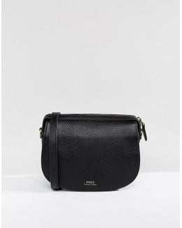 Saddle Bag In Leather