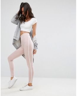 Leggings With Contrast Binding