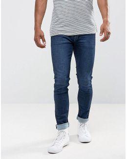 Man Skinny Jeans In Dark Wash