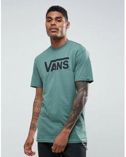 Classic Logo T-shirt In Green V00ggg1ci