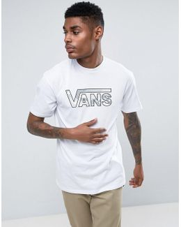 Full Patch Logo T-shirt With Camo Logo In White V002ogo71