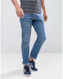 Jeans In Slim Fit Stretch Denim