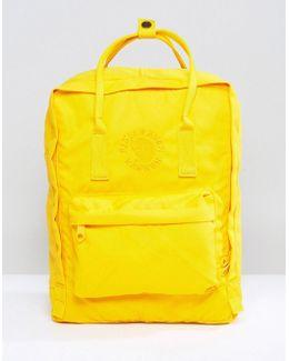 Re-kanken Backpack In Yellow 16l