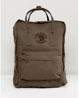 Re-kanken Backpack In Olive 16l