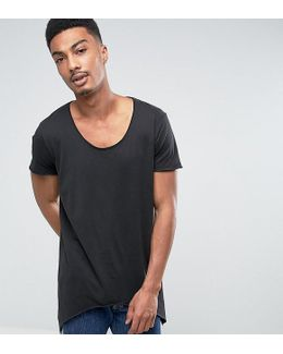 Originals T-shirt With Scoop Neck And Side Curved Hem
