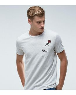 Originals T-shirt With Embroided Pocket Detail