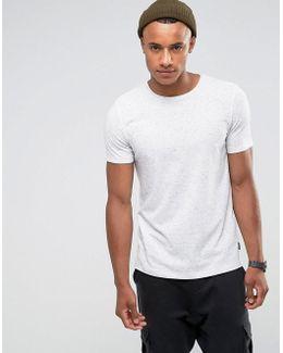 Originals T-shirt In Flecked Cotton