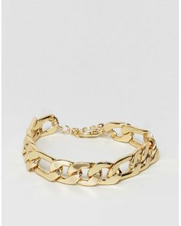 Gold Plated Heavyweight Chain Bracelet