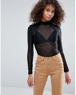 Fishnet Dress Body