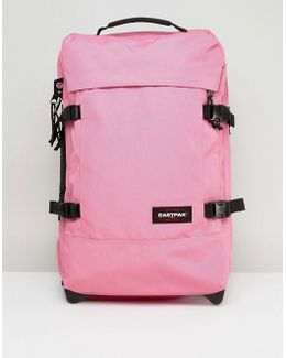 Tranverz Small Pink Suitcase With Wheels