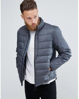 Man Puffer Jacket In Grey