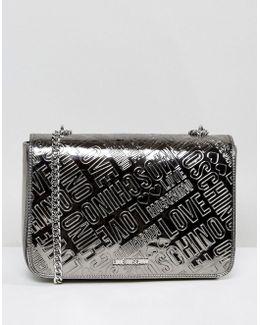 Logo Chain Strap Bag