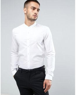 Super Skinny Smart Grandad Shirt