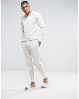 Cuffed Jogger Regular Fit In Oatmeal
