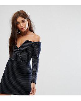 Bardot Tux Mini Dress