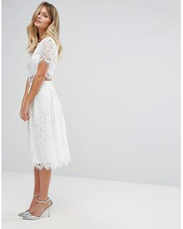 Lace Prom Skirt Co-ord