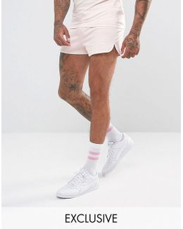 Retro Mesh Shorts In Pink Exclusive To Asos 57590106