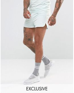 Retro Mesh Shorts In Blue Exclusive To Asos 57590108