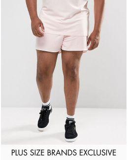 Plus Retro Mesh Shorts In Pink Exclusive To Asos 57590106