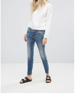 Casual Canne Slim Jeans